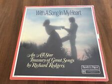 With A Song In My Heart Readers Digest Vinyl LP Box Set Vintage 1983 NEW
