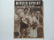 *Rare Vintage 1950s 'MIROIR-SPRINT' - French Cycling Magazine - 12 July 1954*