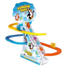 Penguin Run Race Musical Light Up Children's Toy Kids Game Gift Girls Boys