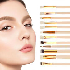 Eye Makeup Brushes 12Pcs Cosmetic Makeup Eyeshadow Eyebrow Brush Sets Kits Tools