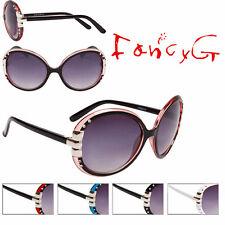 Unisex Fashion Sunglasses Round Stylish UV 400 Protection x 12 Assorted