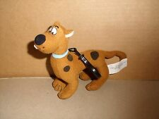Scooby Doo Plush Doll Key Chain Back Pack Clip 6'' excellent