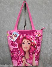BORSA A SPALLA ORIGINALE MIA AND ME SHOPPER BAG BIMBA BAMBINA FUCSIA ROSA A18