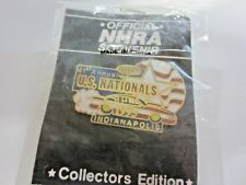 NHRA 1995 41st Annual US Nationals Indianapolis Indiana Drag Racing Event Pin