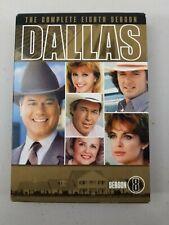 Dallas TV Series The Complete 8th Season 8 Eighth 5-Disc DVD Box Set