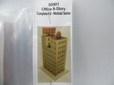 Z Scale 55901 GC Laser 8 Story Office Building Kit NEW