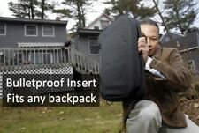 Bullet Proof Backpack Insert (Black) 11x14 - Weapons Grade, Lightweight