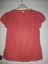 LADIES MONSOON LOVELY PINK TOP - SIZE 8