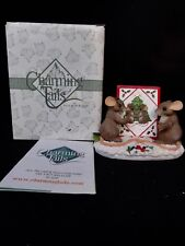 """Charming Tails """" Seasons Greetings """" With Box"""