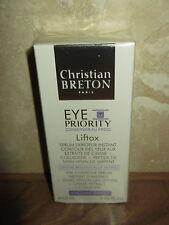 Christian Bretón prioridad de ojos 'liftox' Suero Contorno de Ojos Roll On, D-Arrugas 10ml