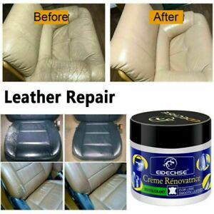 Leather Vinyl Repair Filler Compound Cream for Leather Cracks Holes Repair