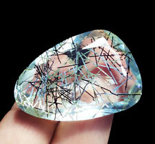 71.70 Ct Certified Loose Gemstone Rutilated Quartz Gems