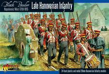Tarde Infantería Napoleónicas Hanoverian-Polvo Negro-Warlord Games - 28MM
