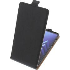 Funda para Samsung Galaxy A8+ 2018 Tipo Flip Funda protectora con tapa negro