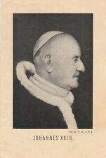 Santos Juan XXIII de D. año 1958 papa