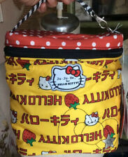 Ju Ju Be For Hello Kitty Fuel Cell Strawberry Stripes Agion Active Zipper Bag🤠