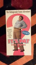 It's Pat The Movie vhs
