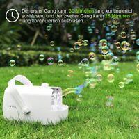 Automatischer Seifenblasenmaschine Seifenblasen Party USB Bubble Machine Kinder