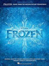 Frozen DISNEY Motion Picture Soundtrack Piano Vocal Guitar FILM SONGS Music Book