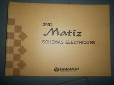 Daewoo MATIZ 2002 : Schémas électriques