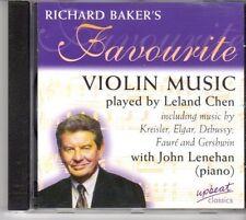 (DM255) Richard Baker's Favourite Violin Music, Leland Chen - 1998 CD