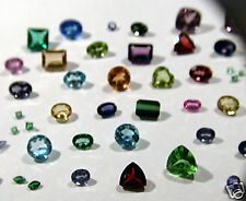 5cts Assorted Fully Faceted Natural Gemstones