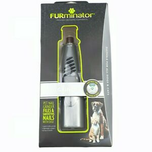 Furminator Pets Nail Grinder With Ease 2 Speeds Cordless with LED  Light