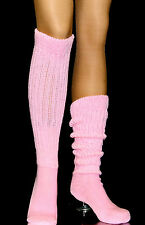 Long Large Slouch Scrunchie to knee Socks Heavy warm Hooters Uniform women's