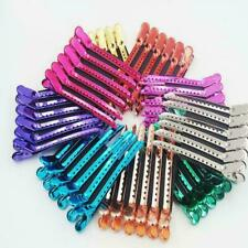 12pcs Hairdressing Clips Salon Barber Section Hair Multi New Clip Color C2M7