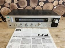 More details for sansui r-410l stereo receiver amplifier