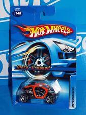 Hot Wheels 2006 Mainline #148 Moto-Crossed Black & Orange