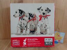 SPRINGBOK Jigsaw Puzzle 500 Pieces PUPPY DOTS Dalmatian Dogs 1984 Hallmark