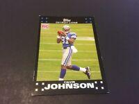 2007 Topps Football #320 Calvin Johnson Detroit Lions Rookie Card