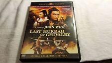 Last Hurrah for Chivalry John Woo Dragon Dynasty (DVD, 2007)