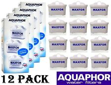 12 AQUAPHOR MAXFOR Jug Replacement Cartridges Standard Size