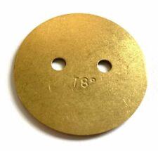 1 X 64005.006 Weber 46 IDA3C Butterfly disc