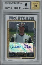 ANDREW McCUTCHEN 2005 Topps Chrome Update RC Autograph BGS Mint 9/10    (B4666)