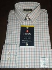 CHAPS - MEN - DRESS SHIRT - MULBERRY - SIZE 15   (CL-A-1-111)