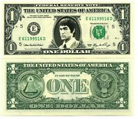 BRUCE LEE VRAI BILLET 1 DOLLAR US ! Collection Wing Chun Kung Fu Hong Kong 5