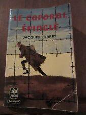 Jacques Perret: le caporal épinglé/ Le Livre de Poche