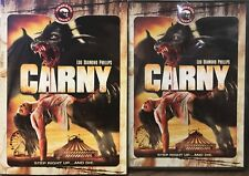 Carny (DVD, 2010) Maneater Series NEW SEALED WITH SLIPCOVER