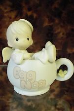 """Precious Moments-#531952 """"Dropping In For The Holidays""""-Angel In Eggnog- NIB"""