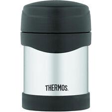 Thermos 10 oz Vacío Aislado Acero Inoxidable Alimentos Jar-Plata