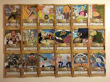 One Piece Miracle Battle Carddass Reg Set Complet 30//30 OP18