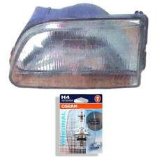 Headlight Left for Toyota Starlet P8 Year 89-96 Incl. Osram Lamps