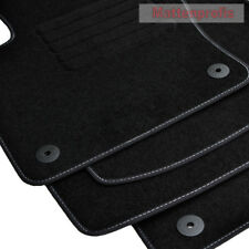 Mattenprofis Velours Fußmatten passend für VW Polo VI 6 Typ AW 2G Bj.09/2017 Bns