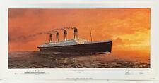 Titanic's Last Sunset print by Artist Adrian Rigby