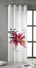 TSUKI RAN Cortina japonesa con ojales metálicos 150x260 / Japan Curtains