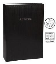Elegance Fotoalbum in Schwarz für 300 Fotos in 10x15 cm Memo Einsteck Foto Album