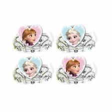 4pk Disney's Frozen Elsa Anna Children's Party Loot Favours Hats Tiaras